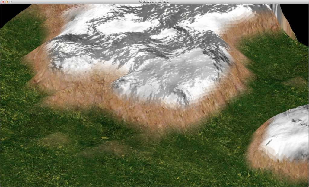 Terrain detail
